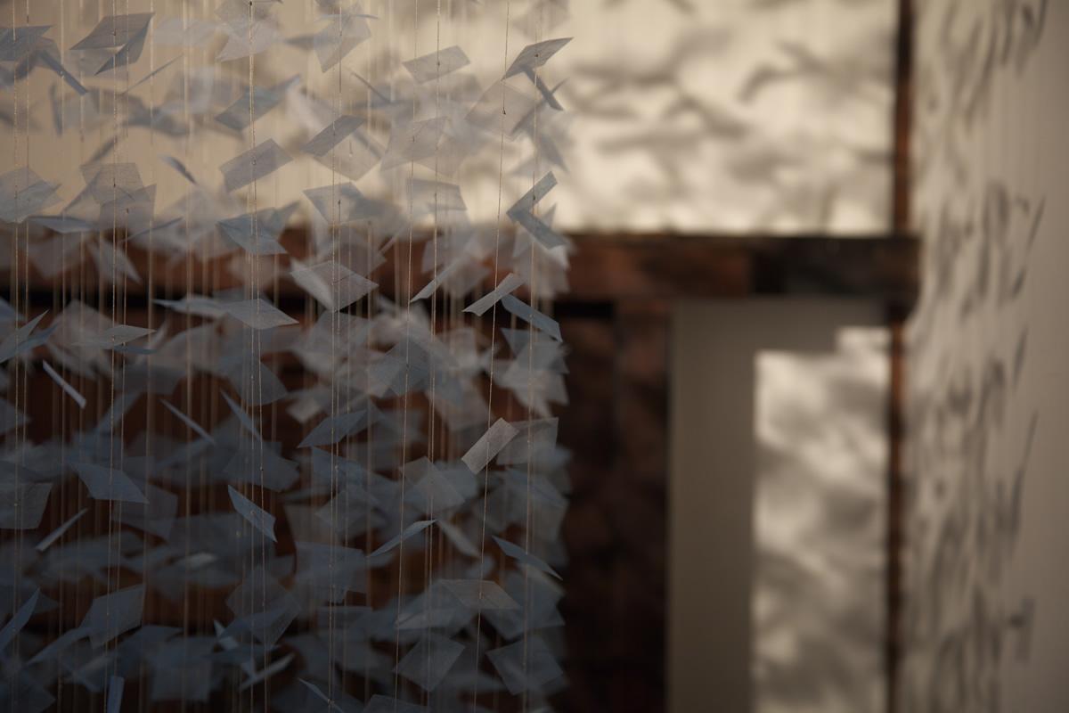 「阿波藍×未来形」プロジェクト展