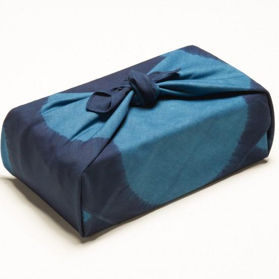 藍染風呂敷/ Furoshiki