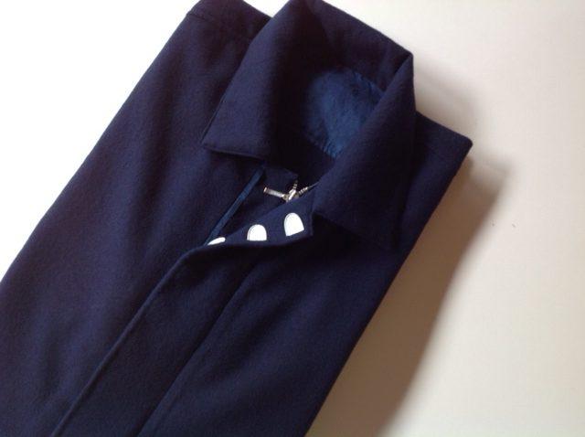 こはぜを使った藍染シャツジャケット