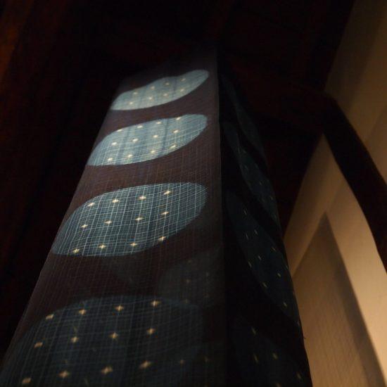 """藍染立体作品「ブルームーン」/ Indigo Art Work """"Blue Moon"""""""